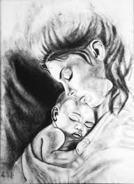 Free Mother And Child Drawing Download Free Clip Art Free Clip Art