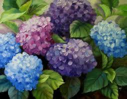 oil paintings of hydrangeas nel s everyday painting