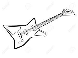 Small Picture Electric Guitar Coloring Pages Apigramcom