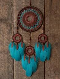 Materials For A Dream Catcher Dream catcher Dreamcatcher Blue dream catcher Natural materials 97