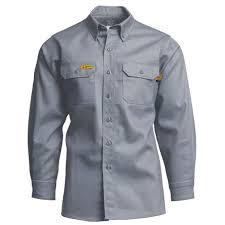 Lapco Fr 6oz Gray Uniform Shirt