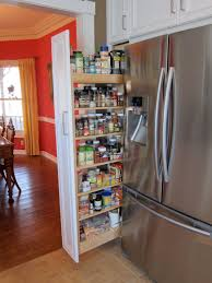 Attractive Kitchen Decoration Design With Cabinet Pull Out Spice Rack  Interior Ideas : Excellent Kitchen Decoration
