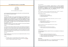 Part Time Job Resume Template Sheesha Info How To Write A For