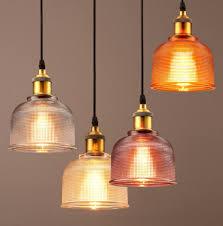 modern style glass ceiling light