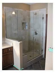 custom shower doors frameless vs
