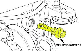 cummins diesel engine block heater cord for 2003 2007 dodge trucks the most common way of routing the cord would be from the element leading out through the vehicle s grille