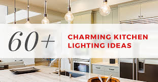 Eat in kitchen lighting Transitional Casasconilinfo 60 Charming Kitchen Lighting Ideas For 2019