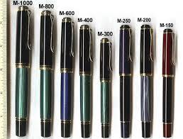 Pelikan Pens Size Chart Pelikan Fountain Pen Fountain Pen