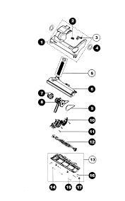 images of dyson vacuum parts dc07