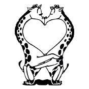 Kleurplaat Valentijn Liefde 3291