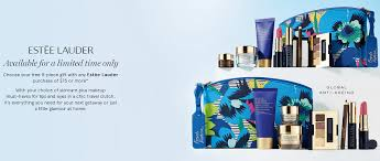 gift with purchase myer target blank estee lauder