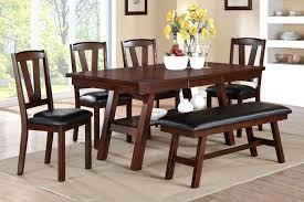 dining room chairs walnut finish. dark walnut dining room chairs f2271 1331 1332 6 pc montana collection finish wood d