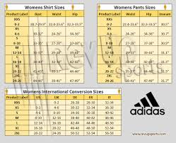 Adidas Womens To Mens Size Chart Size Charts Revup Sports