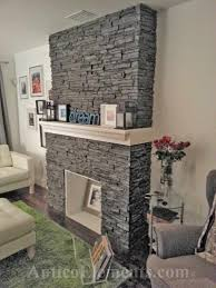 fireplace with faux stone panels refacing s anticoelements com images testimonials photos hink1