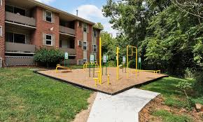 outdoors health and fitness equipment at cedar gardens and towers apartments townhomes in windsor mill