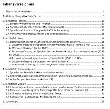 Das Deutschabitur Ein Abiturfach 1000 Themen Abiturlernen De