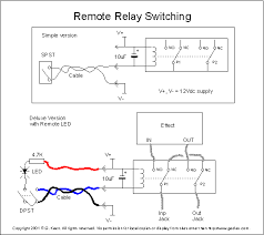 true bypass latching relays it does not specify if it s designed for latching or non latching relays moreover and given the other circuits i ve seen it seems way to simple to work