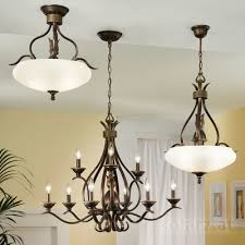 chandelier buckingham brown Ø85 9 lights