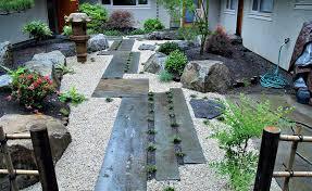 garden design japanese stone walkway design