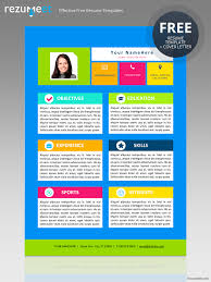 Free Resume Template For Kids Modern Creative Resume Templates Best Kids Resume