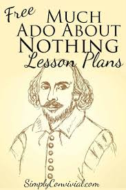 images about much ado about nothing acts  lesson plans for much ado about nothing
