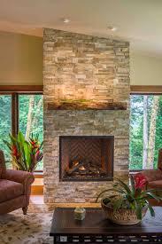 ledge stone fireplace installation by smithcraft portland oregon