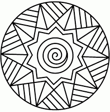 Easy Mandala Drawing 27 On Coloring Pages Coloring Pages For Children