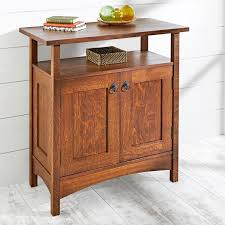 crafts hall cabinet woodworking plan