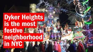 Dyker Heights Christmas Lights Tour 2017 Dyker Heights Christmas Lights Are A Must See In Nyc