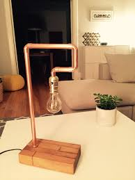 Copper Pipe Table Lamp Diy Montreal