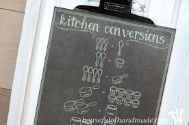 Kitchen Conversion Chart Decor Kitchen Conversion Chart Graffikki Com