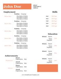 No Degree Resume Examples
