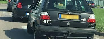 Falsche Streifenwagen Wo Polizei Drauf Steht