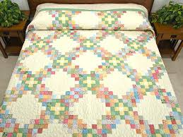 Irish Quilts Patterns – co-nnect.me & ... Pastel Triple Irish Chain Quilt Photo 1 Sandi Irish Quilt Patterns  Irish Chain Quilt Patterns Free ... Adamdwight.com
