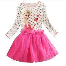 3 8 Years <b>Summer Baby Girl Dress</b> Princess Vestidos Fever Anna ...