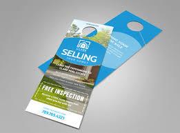 real estate door hanger templates. Thinking Of Selling Real Estate - Door Hanger Template Templates U