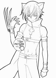 Manga Coloring Cool Image Unique Anime Coloring Pages For Girls
