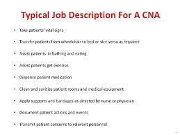 Astonishing Ideas Cna Job Description For Resume Cna Job Description