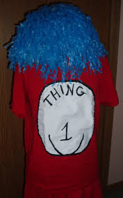 here s how to make a thing 1 or thing 2 costume