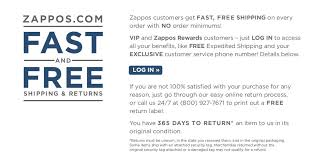 freereturn shipping and returns zappos com