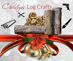 Log Crafts Christmas Log Craft Ideas