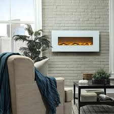 50 inch electric fireplace napoleon allure phantom inch linear wall mount electric fireplace with mesh front