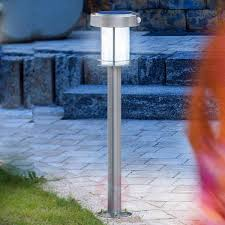 Ancona Led Lamp Op Zonne Energie Rvs Lampen24nl