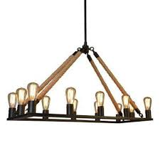 12 light black chandelier