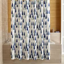 crate barrel marimekko iso pisaroi shower curtain