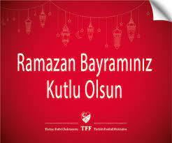 TFF Başkanı Nihat Özdemir'den Ramazan Bayramı mesajı - TFF'den Mesajlar  Detay Sayfası TFF