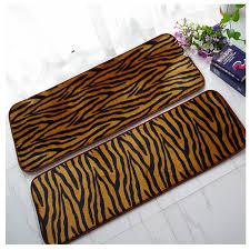 leopard outdoor floor mats