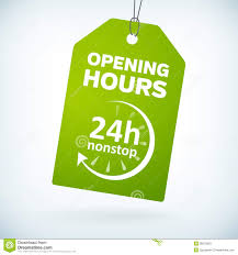 hr paper belline super stay hour colour in pinking of you glitz  green leather hour nonstop open bookmark label stock photo green paper 24h nonstop opening hours tag