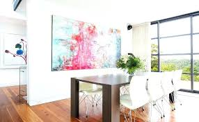 hang artwork painting on wall hanging concrete walls art right pictures without nails