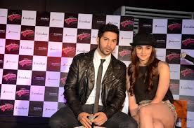 Varun Dhawan at the new song launch ...